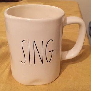 Rae Dunn sing mug